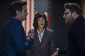 the-interview-lizzy-caplan-james-franco-seth-rogen critique brain damaged