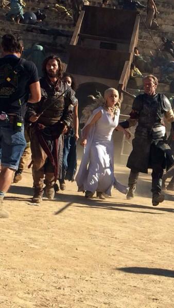 daenerys dans l'arène