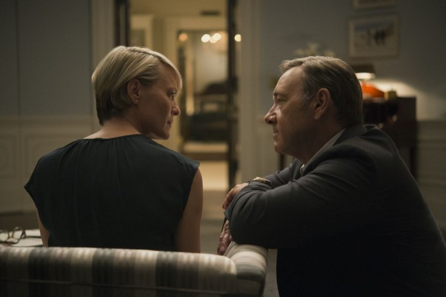 House of Cards saison 3 claire frank underwood