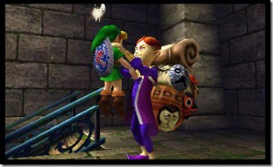Majora's mask 3D illus1