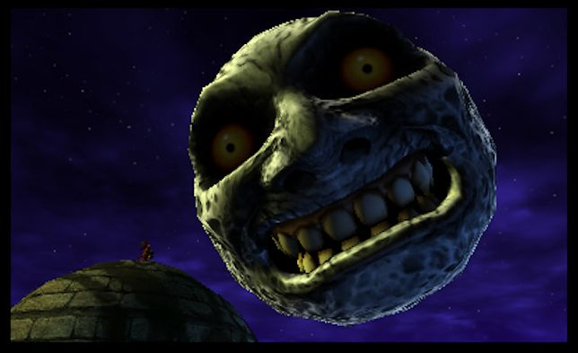 Majora's mask 3D illus22
