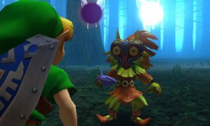 Majora's mask 3D illus3
