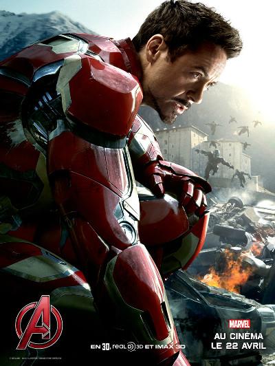 affiche Avengers 2 Iron Man