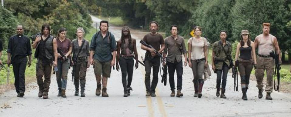 The Walking dead saison 5 une