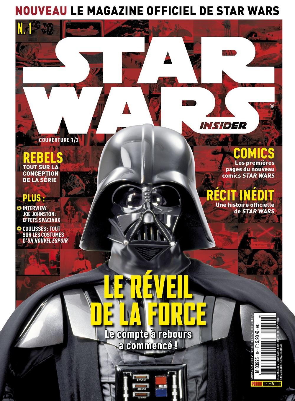 star wars insider le magazine en kiosque brain damaged. Black Bedroom Furniture Sets. Home Design Ideas