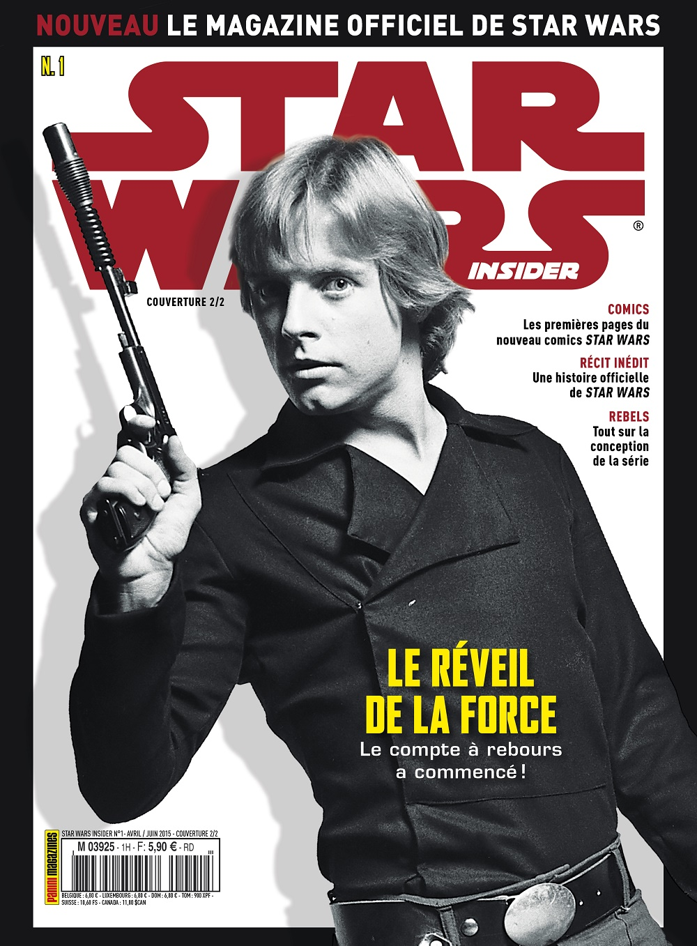 star wars insider le magazine en kiosque brain damaged. Black Bedroom Furniture Sets. Home Design Ideas