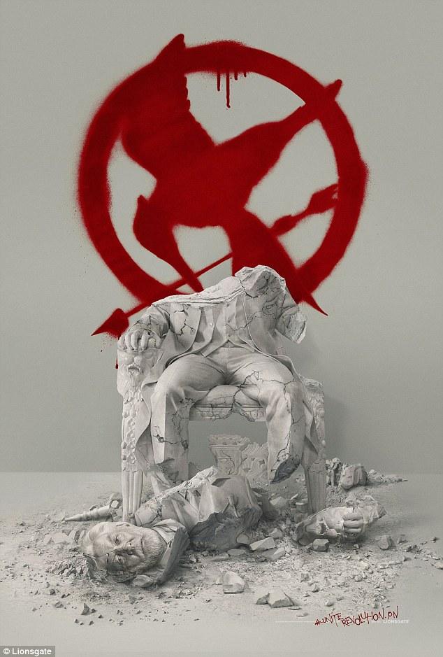 nouvelle affiche mystere pour Hunger games 4