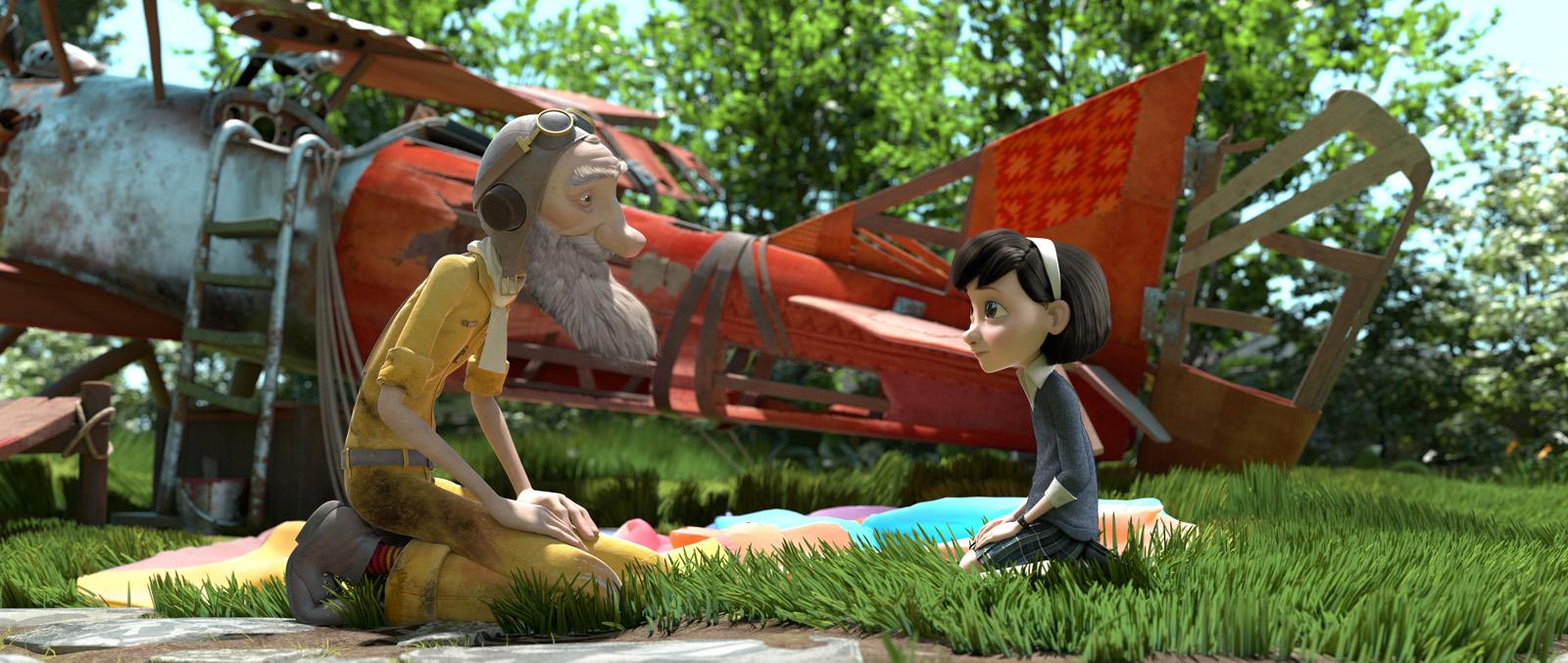 Filme O Pequeno Principe 2015 inside le petit prince : joli conte poétique   brain damaged