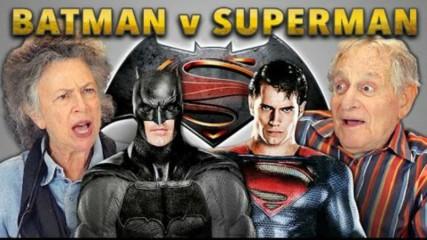 les-seniors-reagissent-au-trailer-batman-v-superman-une