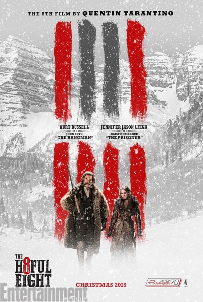 the hateful 8 affiche