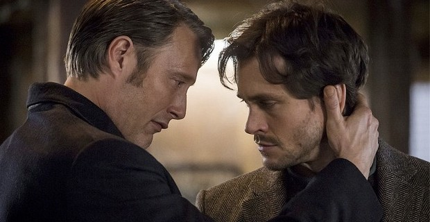 Mads-Mikkelsen-and-Hugh-Dancy-in-Hannibal-Season-2-Episode-8