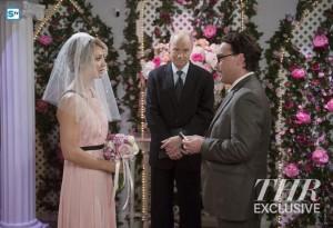 The Big Bang Theory saison 9 : photos de mariage