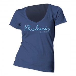 Khaleesi Women's V-Neck Tee £17.99