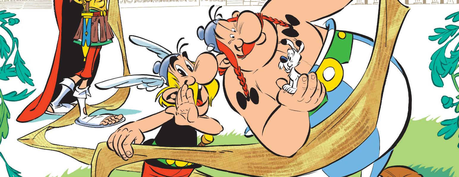 Citaten Asterix En Obelix : Astérix le papyrus de césar la couverture et extraits