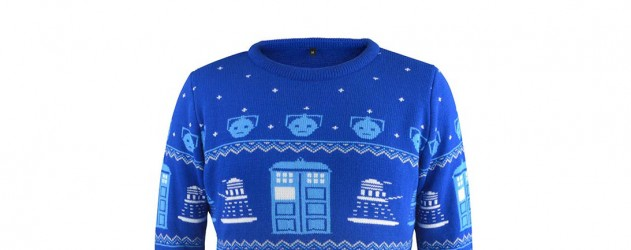 christmas jumper pull de noel doctor who