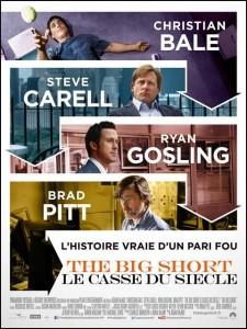 The big short affiche française