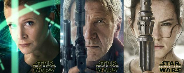 Star wars 7 le r veil de la force affiches personnages - Personnage star wars 7 ...