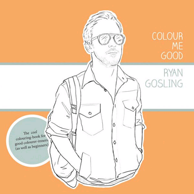 Coloriage Ryan Gossling