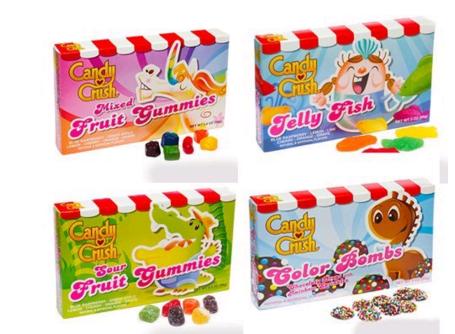 Les VRAIS bonbons Candy Crush