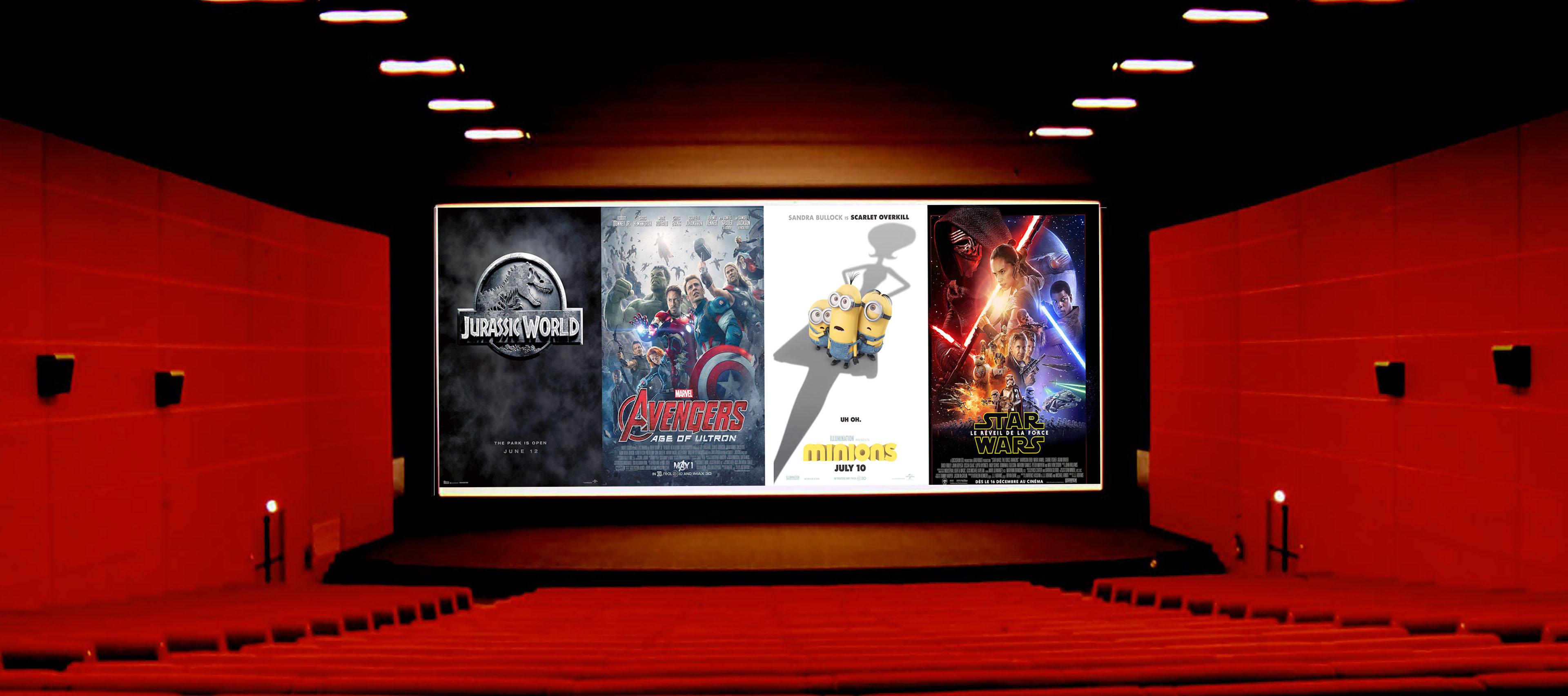 Box office monde top 20 des meilleurs succ s 2015 brain damaged - Box office cinema mondial ...