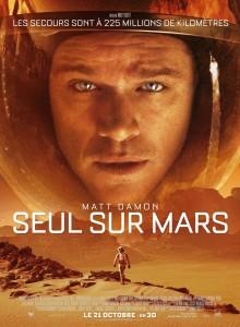 les 10 meilleurs films du Cerveau 2015 - Seul sur Mars