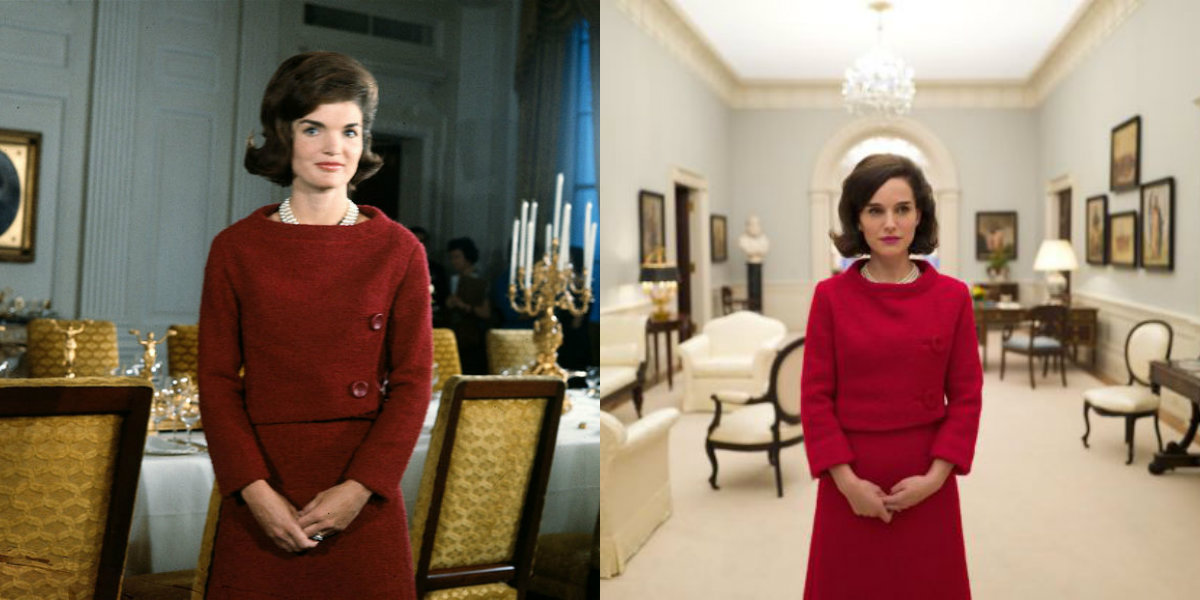 premi re image de nathalie portman en jackie kennedy brain damaged. Black Bedroom Furniture Sets. Home Design Ideas