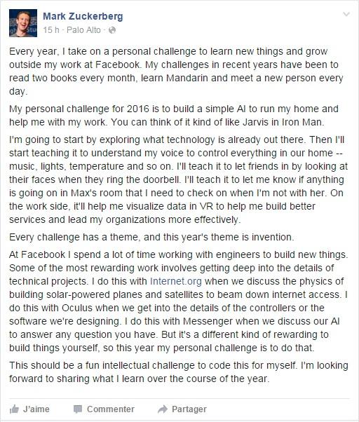 Post Mark Z sur IA