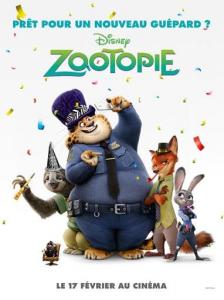 Affiche Zootopie