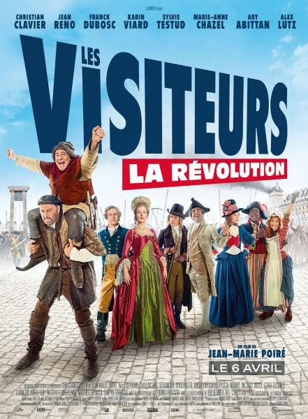 Les visiteurs 3 la révolution affiche