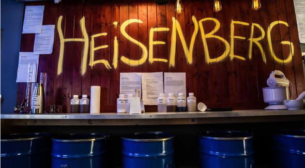 Breaking Badbientôt un bar éphémère à Paris Installez-vous