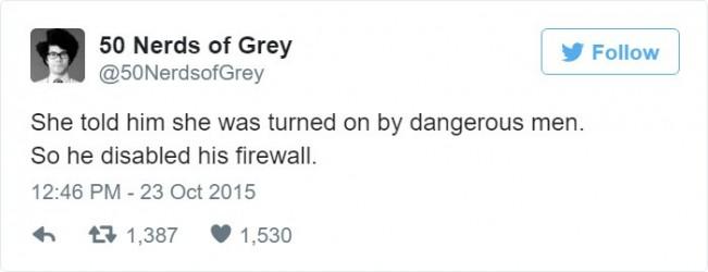 50 Nuances de Grey la version Nerd Pare-Feu