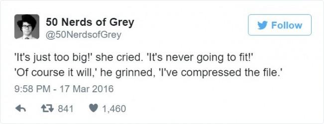 50 Nuances de Grey la version Nerd Trop Gros