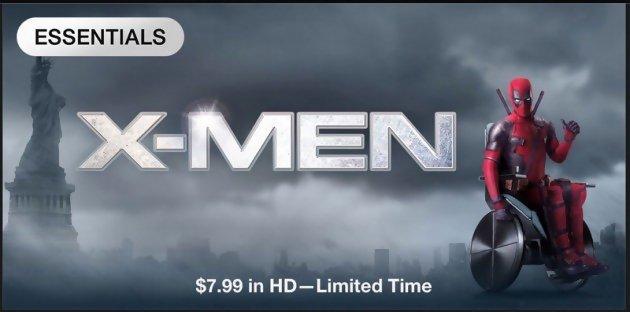 Deadpool le super-héros s'incruste dans les affiches de ses collègues X-Men