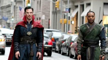 Docteur Strange  nouvelles images des acteurs en costume Dr Strange et Baron Mordo UNE