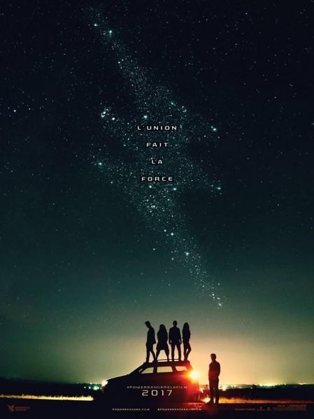 Power Rangers le film l'affiche teaser française