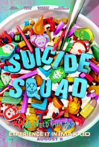 Suicide Squad : Nouvelles affiches