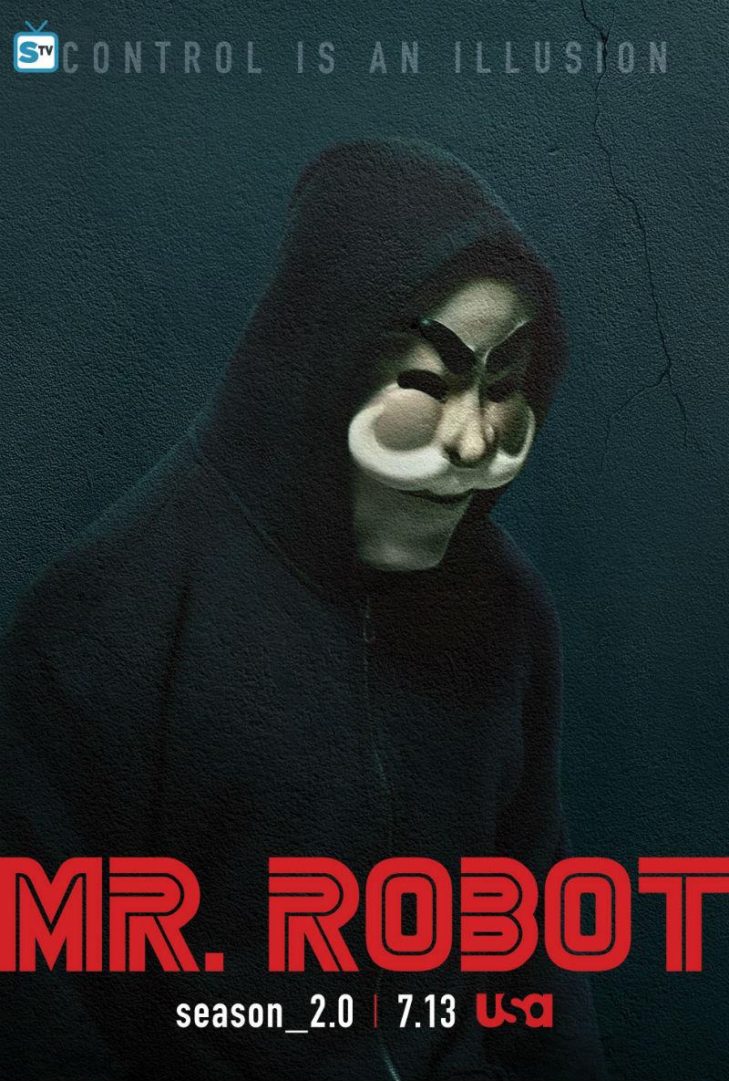 Top Mr Robot saison 2 : Nouvelles affiches | Brain Damaged SP18