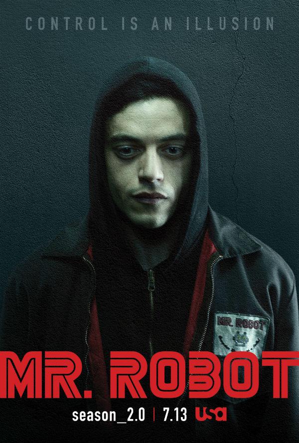Super Mr Robot saison 2 : Nouvelles affiches | Brain Damaged ML26