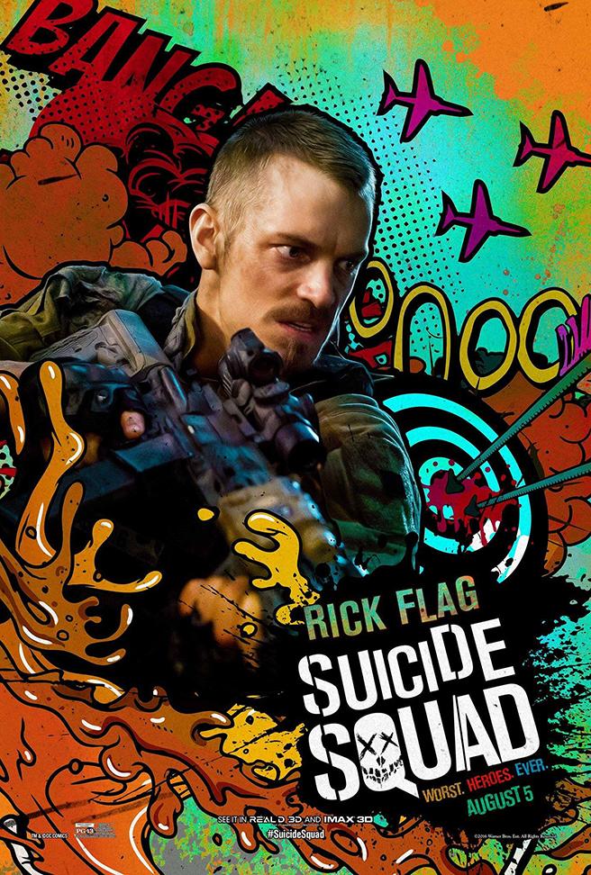 suicide squad nouvelles affiches color es brain damaged. Black Bedroom Furniture Sets. Home Design Ideas