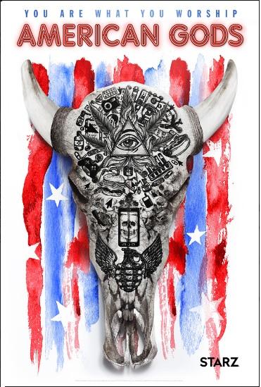 American Gods nouveau poster présenté au Comic Con