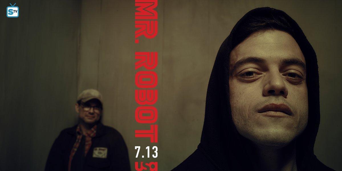 Rami Malek Debuts 'Mr. Robot' Season 2 Trailer at Upfronts!