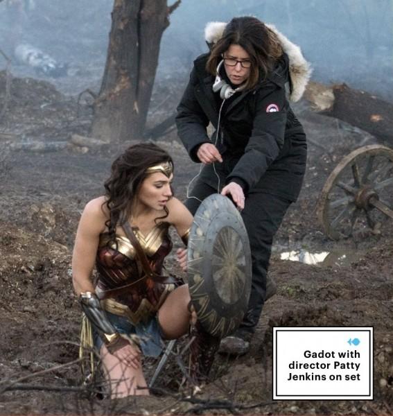 Wonder Womannouvelles images du tournage ILLU 2