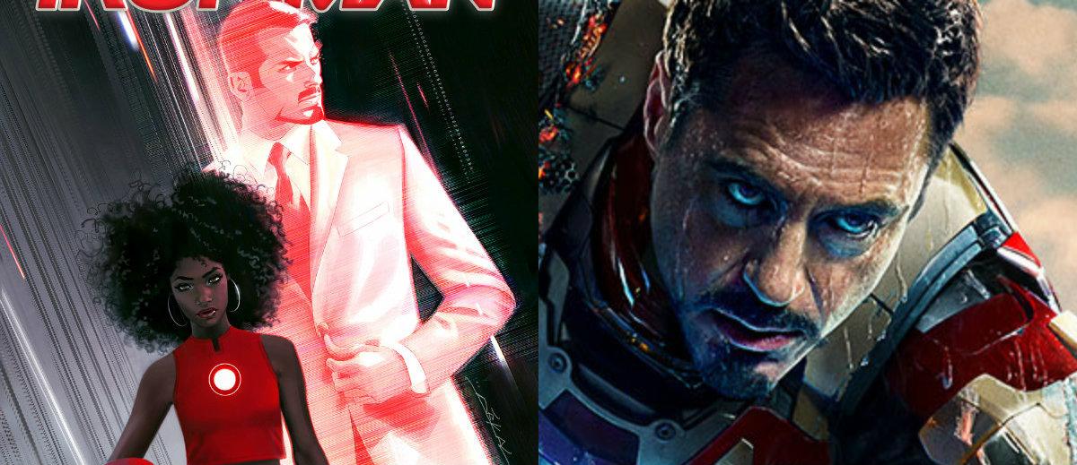Iron Man : Robert Downey Jr approuve la remplaçante de ...