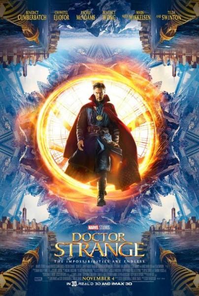 nouveau poster et nouvelles image au comic con de san diego pour doctor Strange avec Benedict Cumberbatch