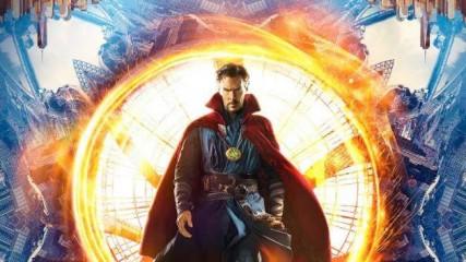 nouveau poster et nouvelles image au comic con de san diego pour doctor Strange avec Benedict Cumberbatch image une
