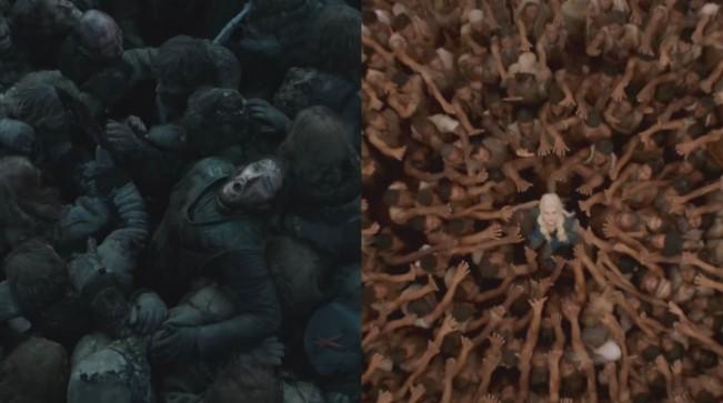 Jon Snow vs daenerys