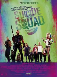 Suicide Squad les méchants sont bons AFFICHE