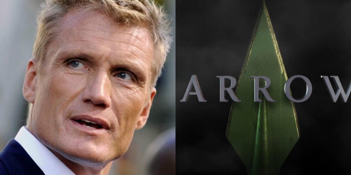Arrow Saison 5 Dolph Lundgren Dans Les Flashbacks Et