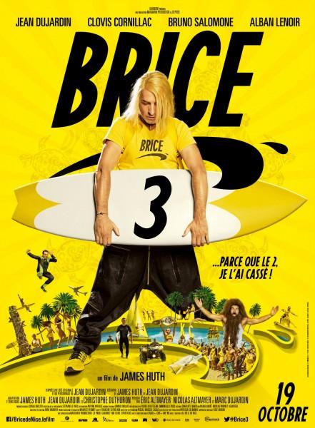 Brice 3 l'affiche définitive ILLU