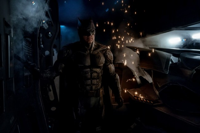 Justice League - Batman dans son nouveau costume